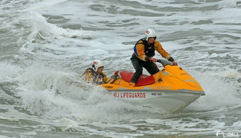 Bude RNLI Rescue Water Craft training