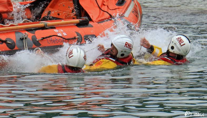 12 July 2017 - RNLI Capsize boat training © Ian Foster / fozimage
