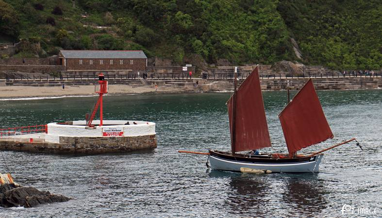 15th June 2015 - Looe Lugger Regatta - Spirit of Mystery - © Ian Foster / fozimage