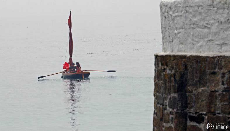 5th June 2016 - Rowing out into Looe bay © Ian Foster / fozimage