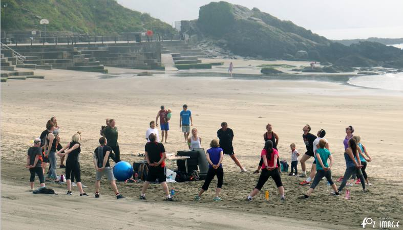 5th June 2016 - Beach Bootcamp © Ian Foster / fozimage