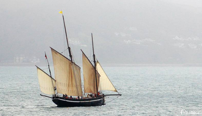 11 June 2017 - Looe Lugger Regatta - Grayhound © Ian Foster / fozimage