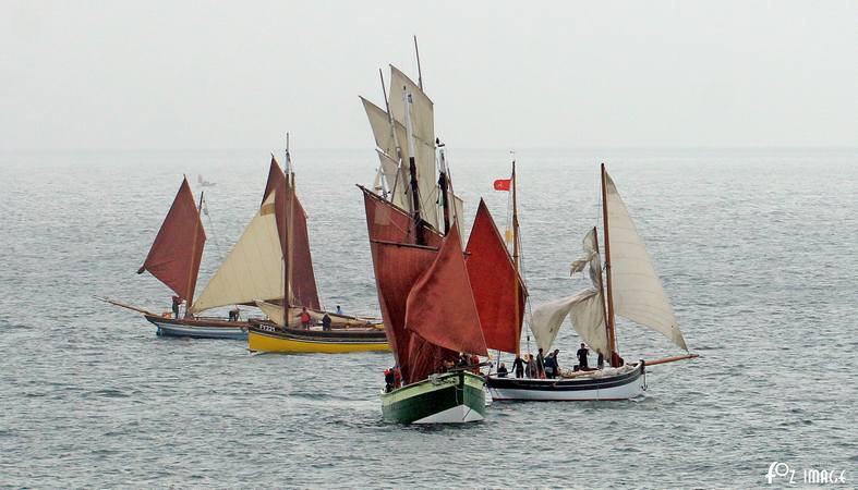 11 June 2017 - Looe Lugger Regatta © Ian Foster / fozimage