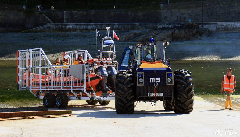 17 June 2017 - Looe RNLI Atlantic 85 B-894 Sheila and Dennis Tongue II recovery © Ian Foster / fozimage