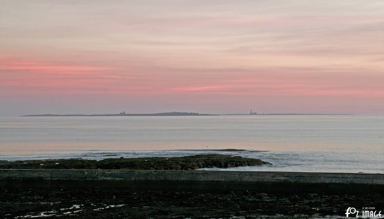 27 March 2017 - Sunrise over Seahouses © Ian Foster / fozimage