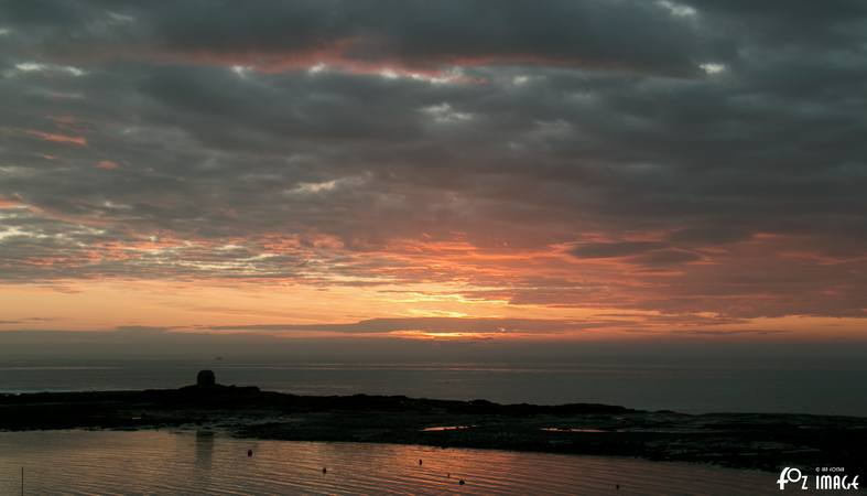 29 March 2017 - Sunrise over Seahouses © Ian Foster / fozimage