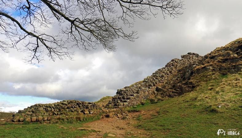 31 March 2017 - Hadrian's Wall Milecastle 39 © Ian Foster / fozimage