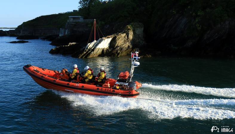 24 May 2017 - Looe RNLI D Class B-894 Sheila and Dennis Tongue II © Ian Foster / fozimage