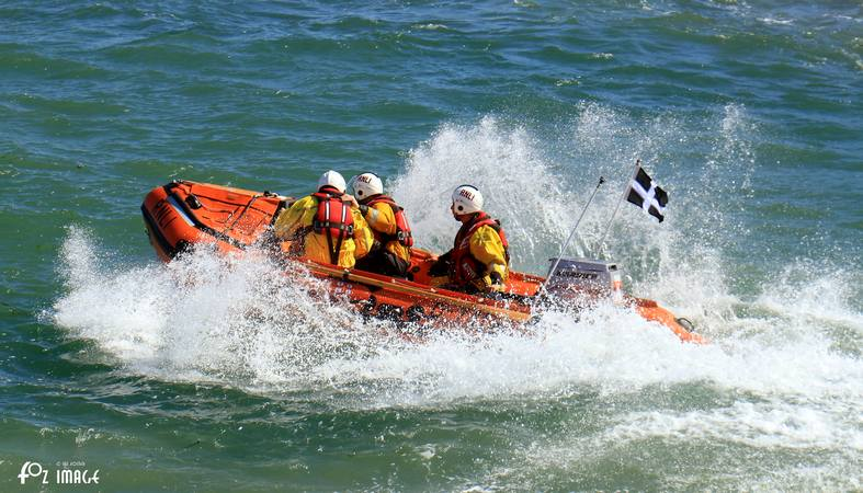 26 May 2017 - Looe RNLI D Class D-741 Ollie Naismith © Ian Foster / fozimage