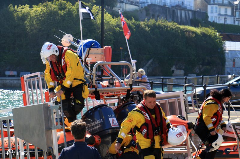 26 May 2017 - Looe RNLI inshore lifeboat recovery © Ian Foster / fozimage